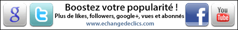 Plus de like FACEBOOK, YOUTUBE, TWITTER et GOOGLE